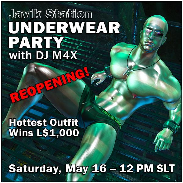 Underwear Party Poster 600