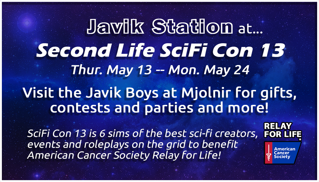 SciFi Con 13 Javik Ad