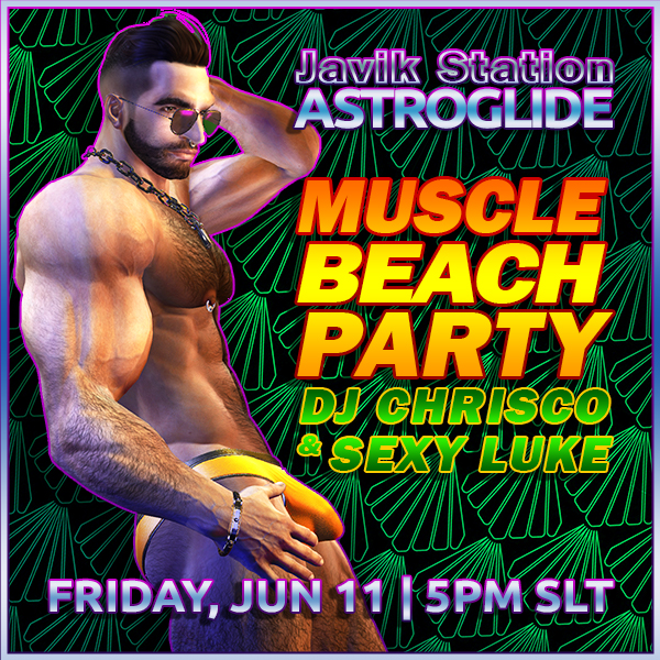 Muscle Beach Party with DJ Chrisco!