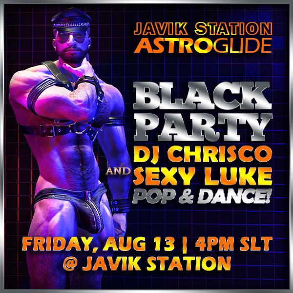AstroGlide Black Party with DJ Chrisco!