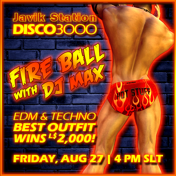 DISCO3000 FIRE BALL with DJ MAX!