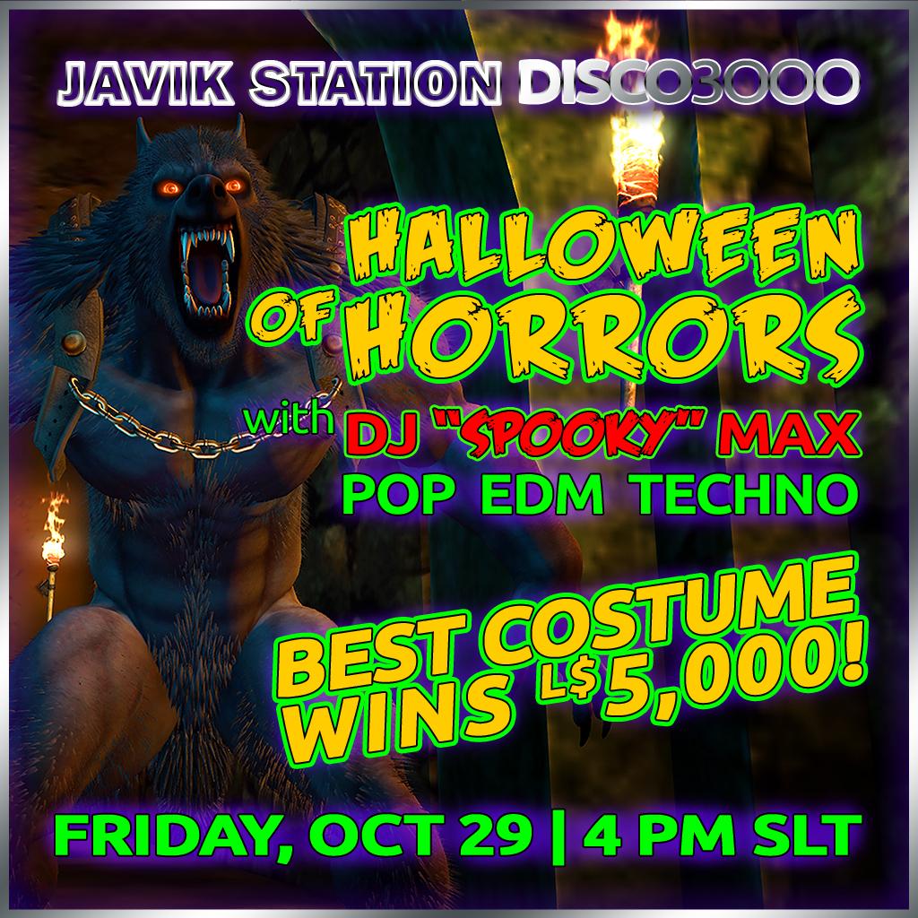 DISCO3000 Halloween of Horrors!